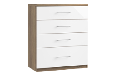 4 Drawer Chest (With 1 Deep Drawer)