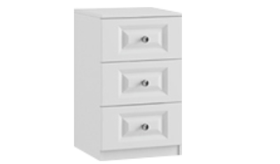 3 Drawer Bedside Small