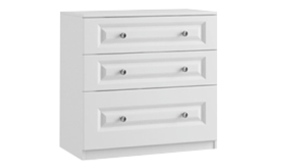 3 Drawer Midi Chest With Deep Drawer